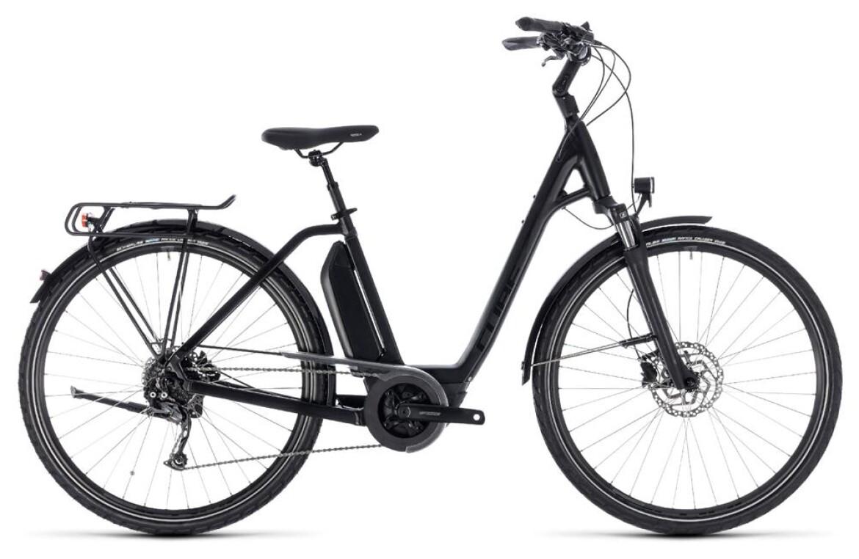 Cube Cube Town Hybrid Sport 500 E-Bike schwarz