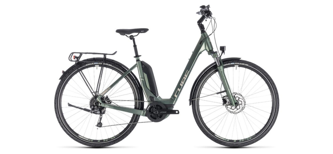 Cube Touring Hybrid ONE 500 Easy Entry frostgreen´n´silver 2018