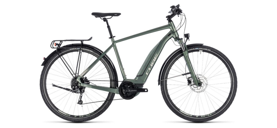 Cube Cube Touring Hybrid ONE 400 frostgreen´n´silver