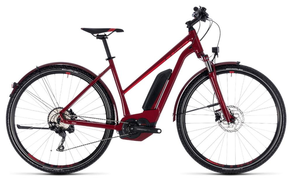 Cube Cross Hybrid Pro Allroad 500 darkred n red