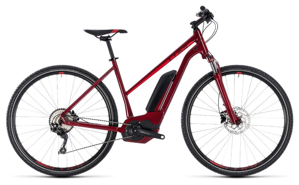 Cube CROSS HYBRID PRO 400 T red