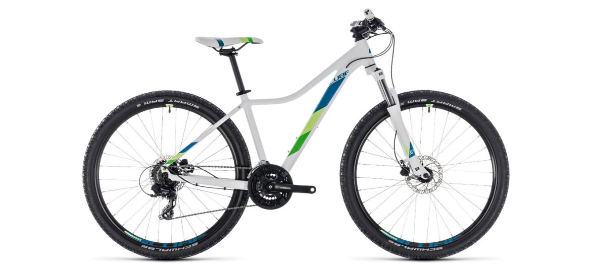 Cube Access WS EAZ white´n´green 29er 2018