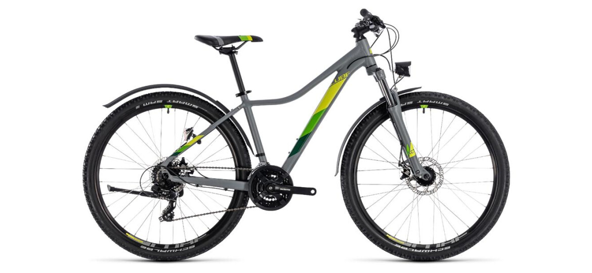 Cube Access WS Allroad grey´n´green 29