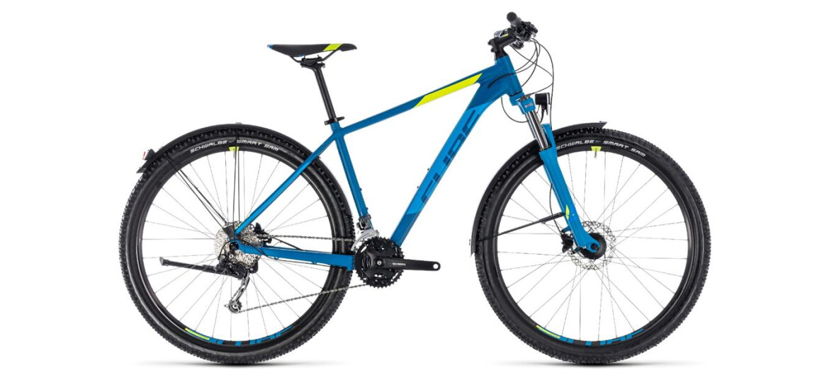Cube Cube Aim SL Allroad blue´n´flashyellow 2018