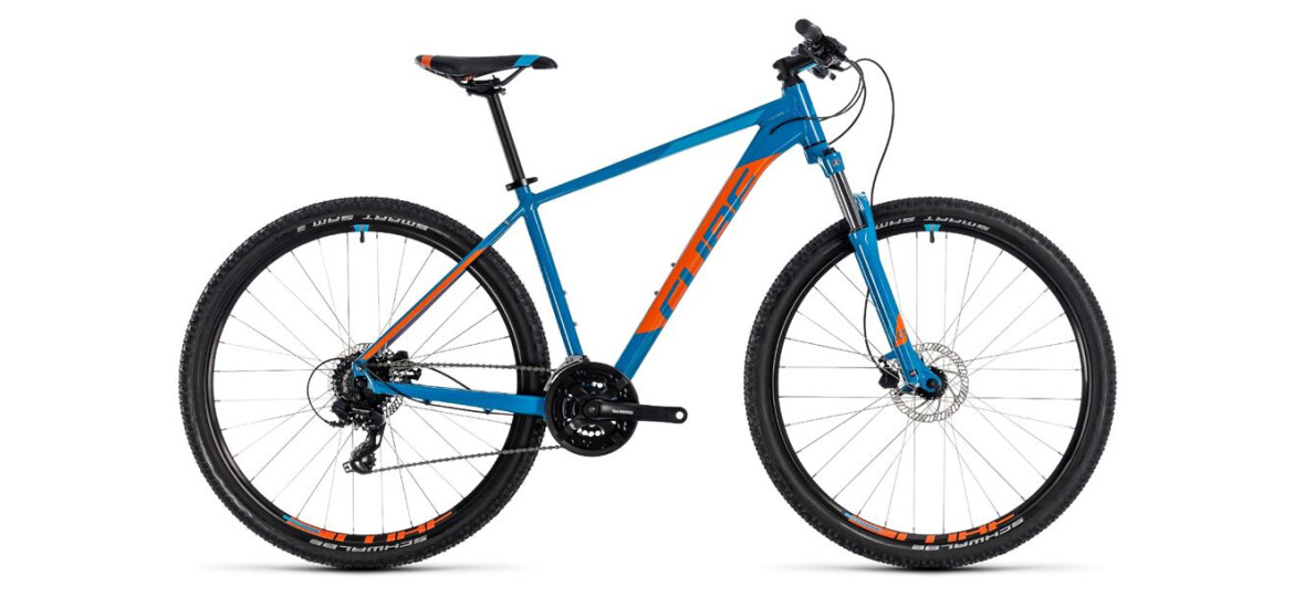 Cube Aim Pro blue´n´orange 27,5 2018