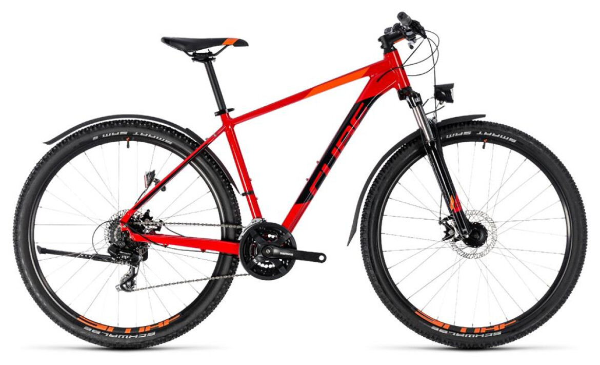 Cube Aim Allroad 27,5 red´n´black 2018