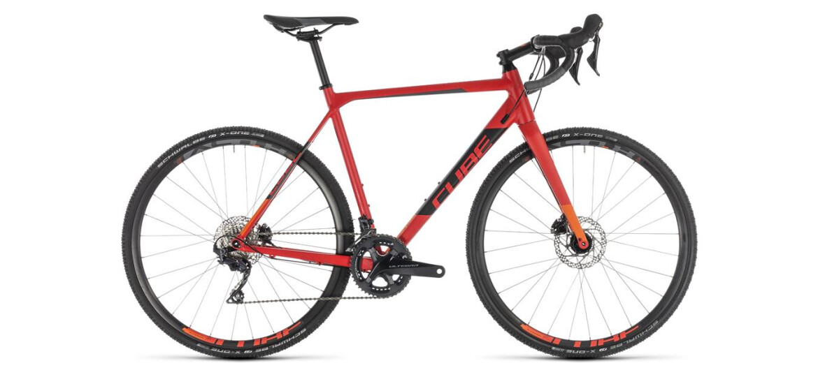 Cube Cross Race SL red´n´orange 2019