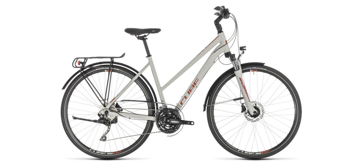 Cube Touring EXC Damen grey´n´orange 2019