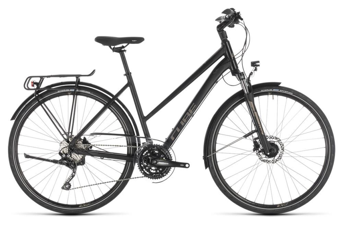 Cube Touring EXC Damen black´n´brown 2019