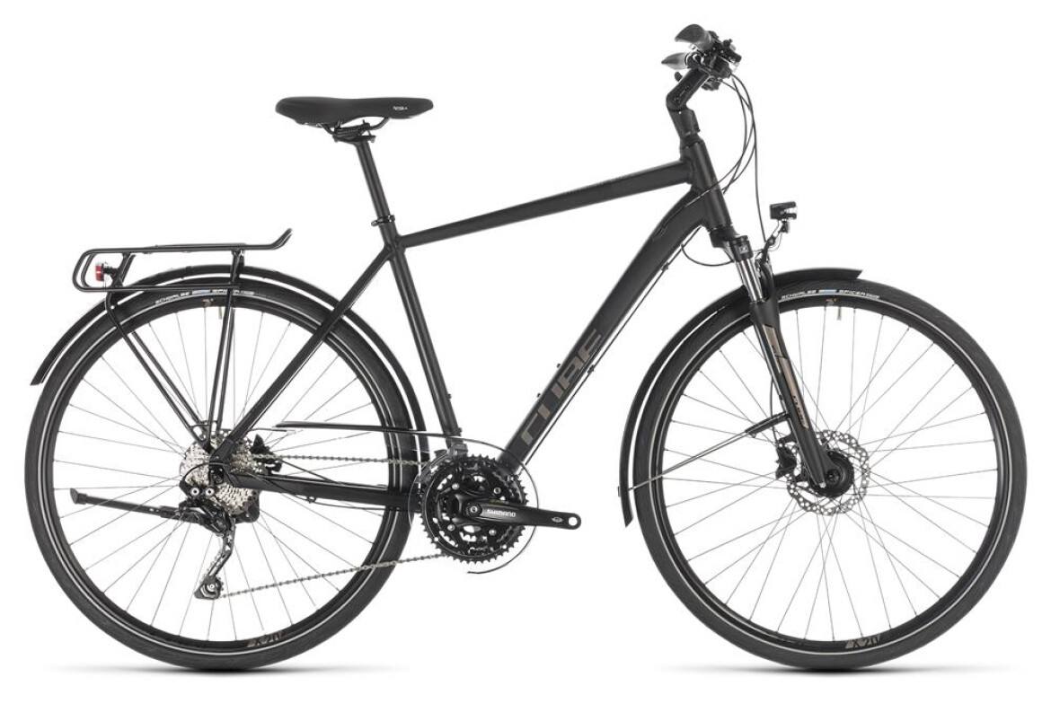 Cube Touring EXC black´n´brown 2019