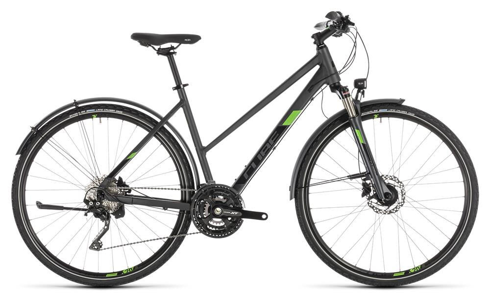 Cube Cross Allroad iridium´n´green Trapez