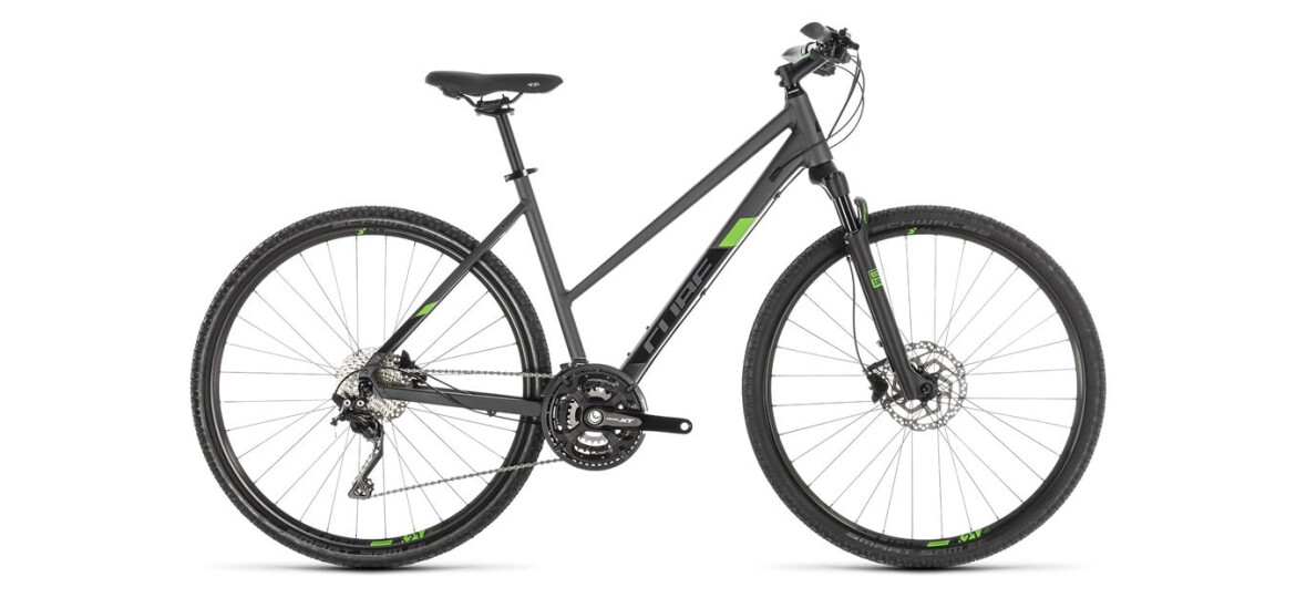 Cube Cross Pro Damen iridium´n´green 2019