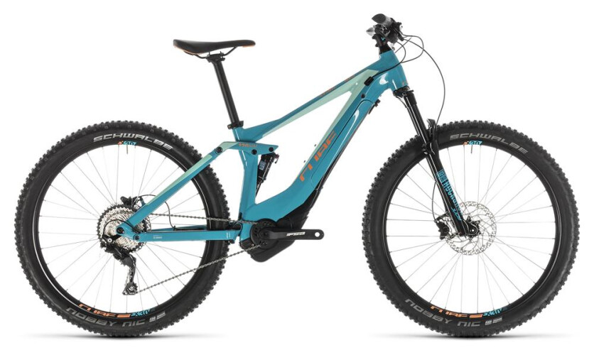 Cube Sting Hybrid 120 Race 29 turquoise´n´apricot 2019