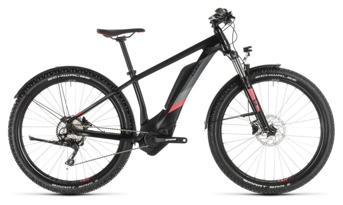 Cube Access Hybrid Pro 500Wh black´n´coral