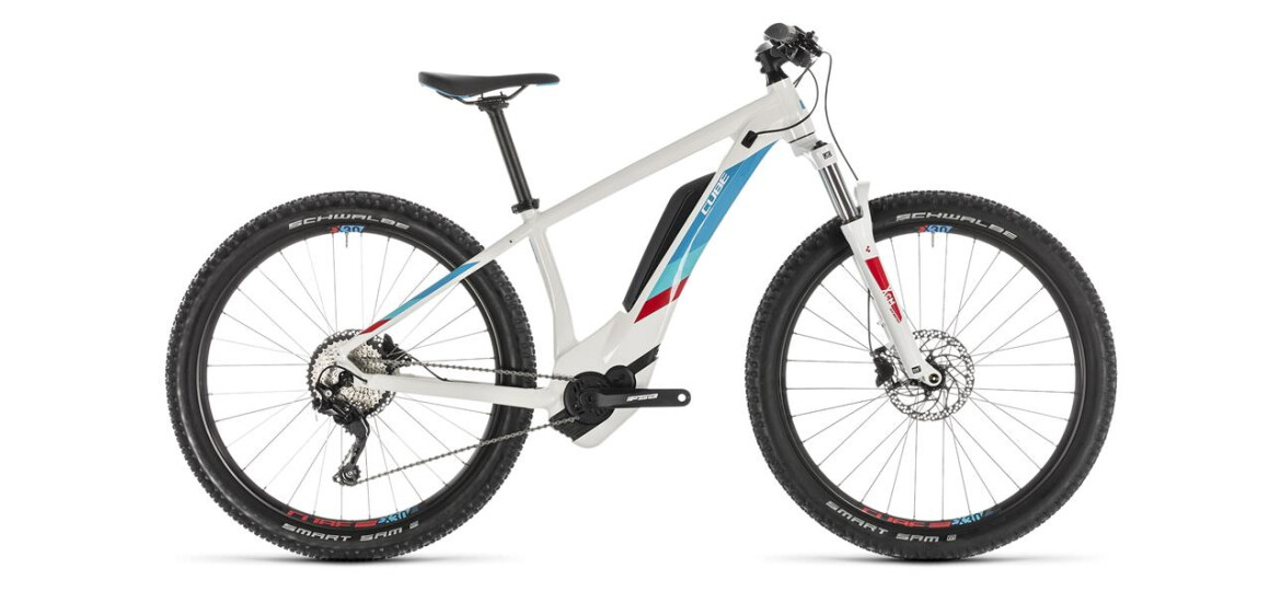 Cube Cube Access Hybrid Pro 500 white´n´blue 2019