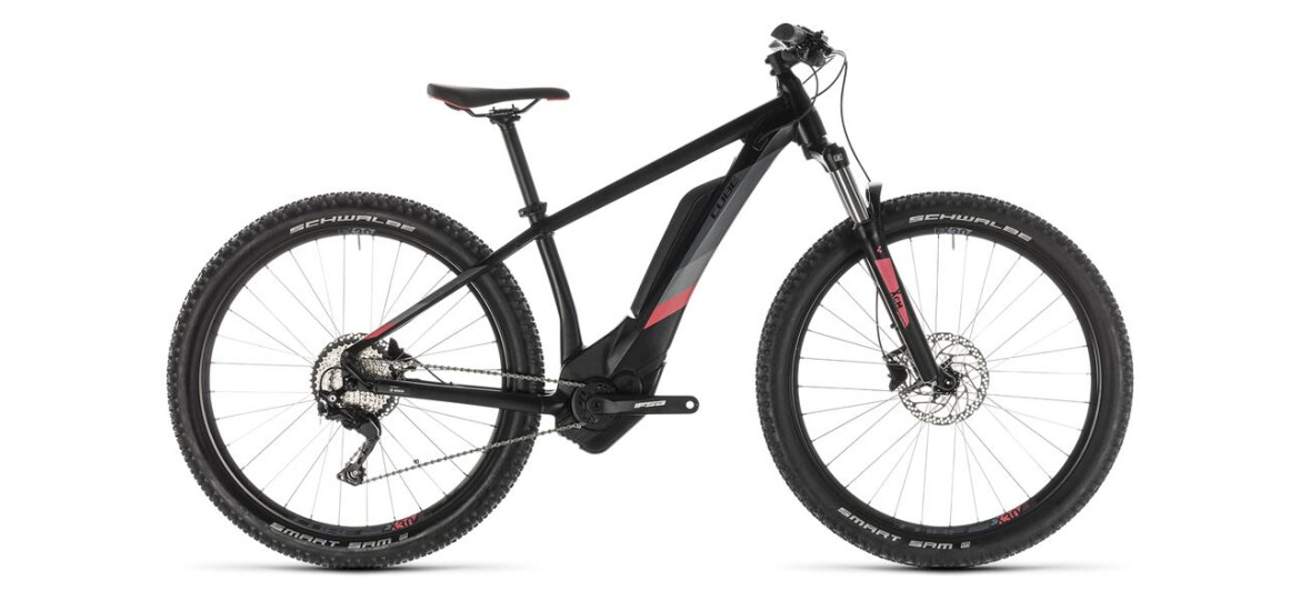 Cube Access Hybrid Pro 500 black´n´coral 27,5 2019