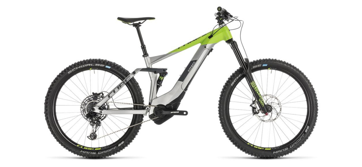 Cube Stereo Hybrid 160 Race 500 grey´n´green 2019