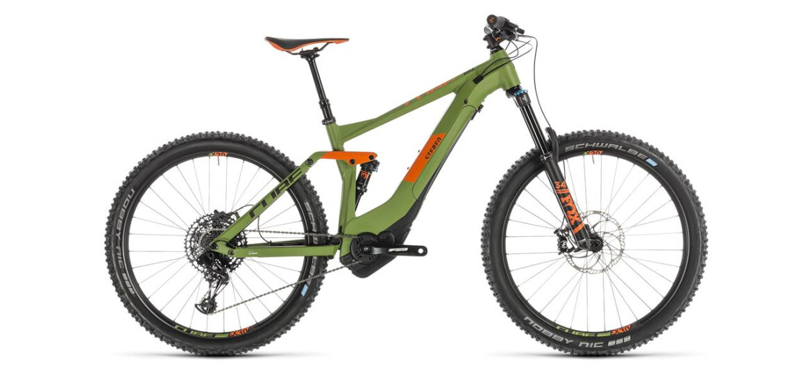 Cube Stereo Hybrid 140 Race 500 green´n´orange 2019