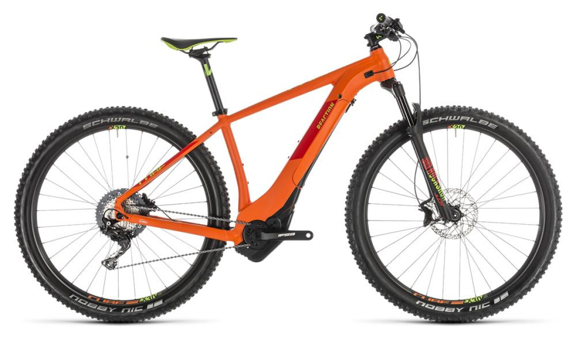 Cube Reaction Hybrid SL 500 27,5 orange´n´green 2019