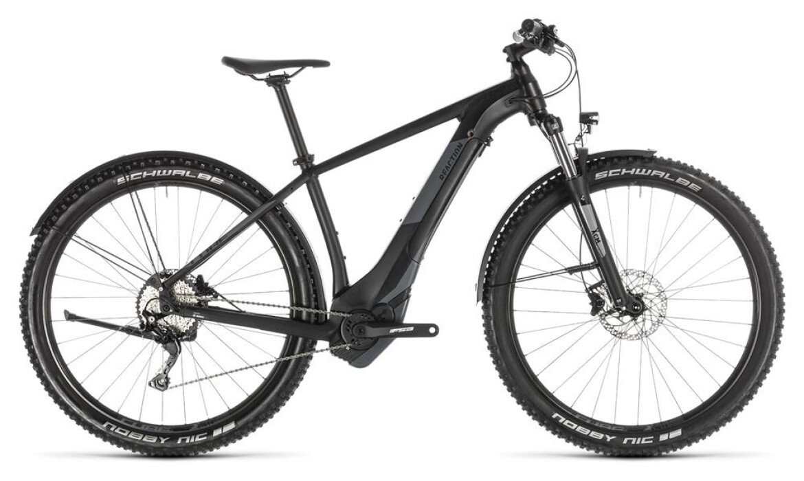 Cube Cube Reaction Hybrid EXC 500 Allroad black´n´grey 2019