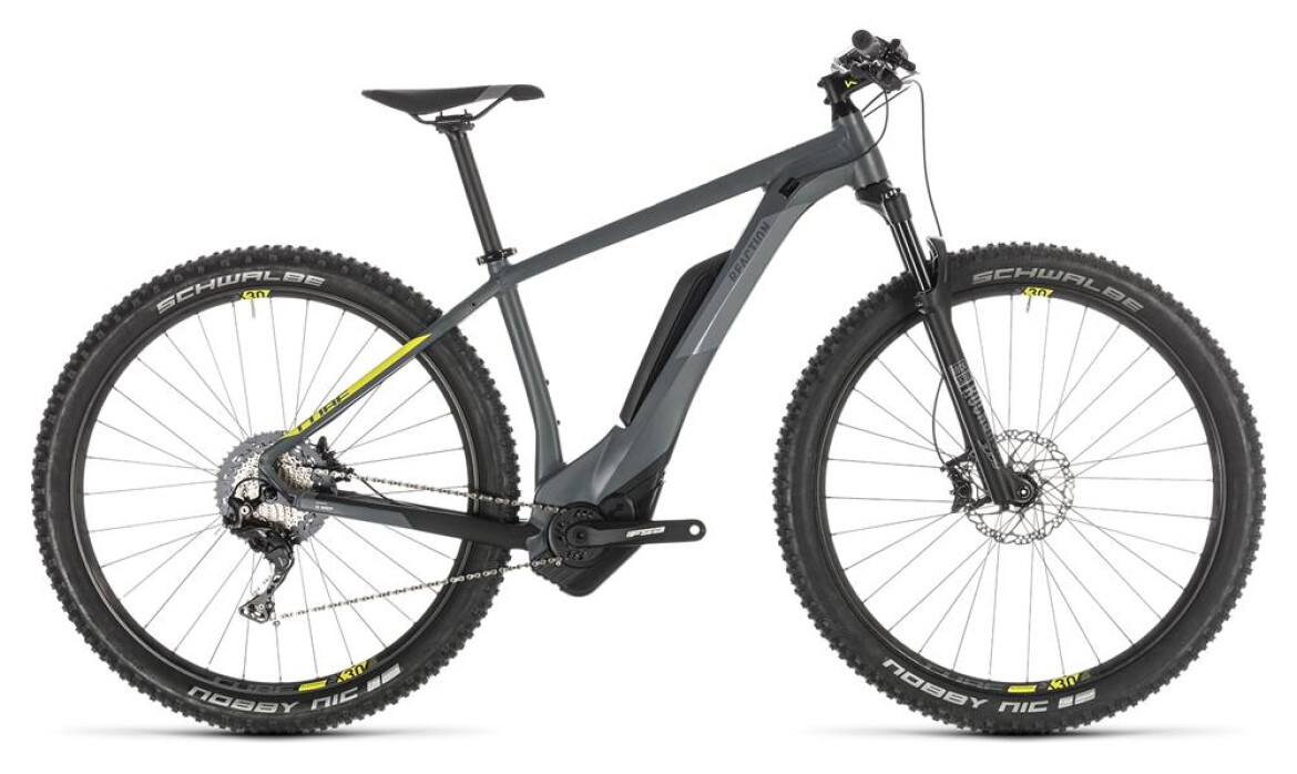 Cube Reaction Hybrid Race 500 27,5 grey´n´lime 2019