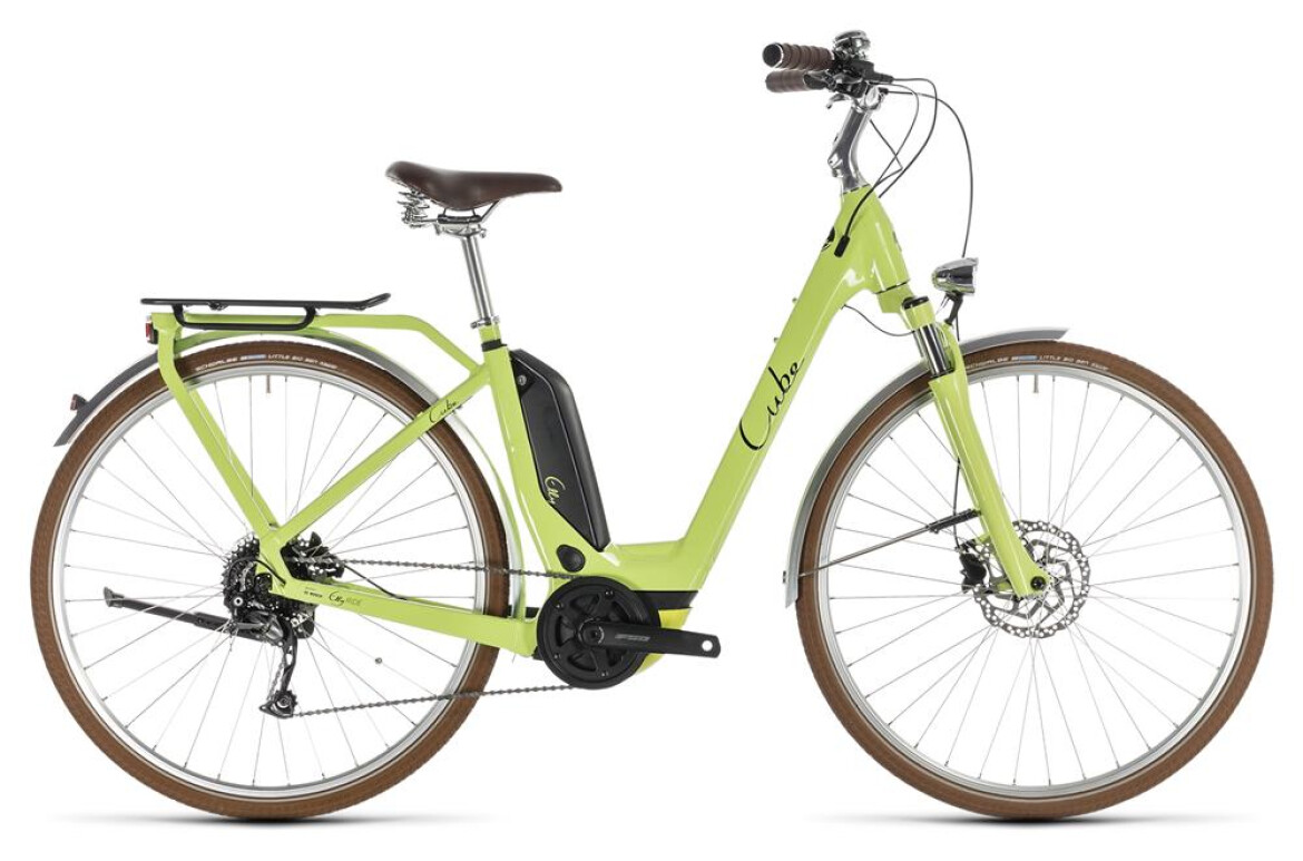 Cube Elly Ride Hybrid green´n´black 2019