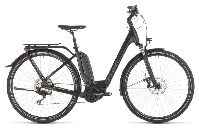 Cube Touring Hybrid EXC 500 EasyEntry black´n´grey 2019