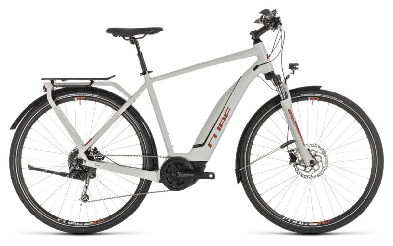 Cube Touring Hybrid 500 Herren grey´n´orange 2019