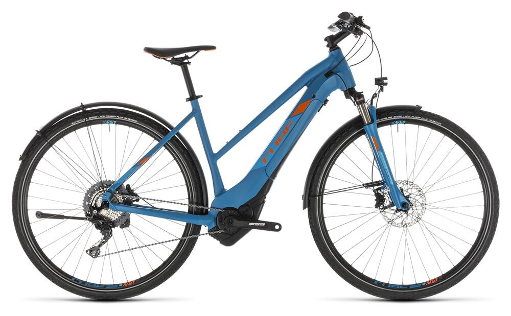 Cube Cross Hybrid Race 500 Allroad Damen blue´n´orange 2019