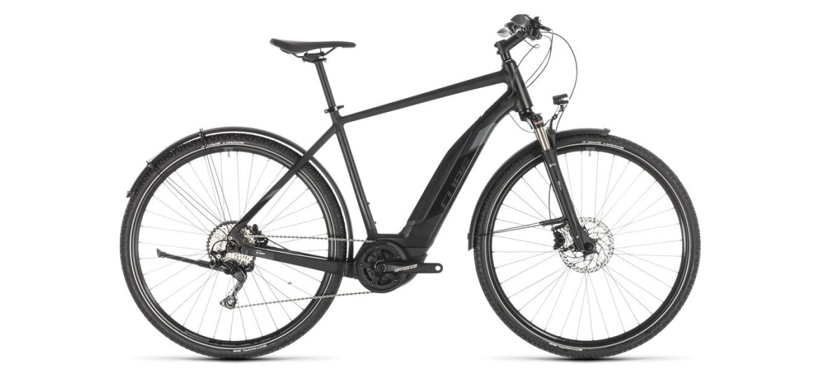 Cube Cross Hybrid EXC 500 Allroad black´n´grey 2019