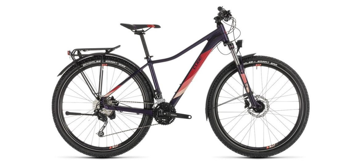 Cube Access WS Pro Allroad 29 aubergine´n´pink 2019