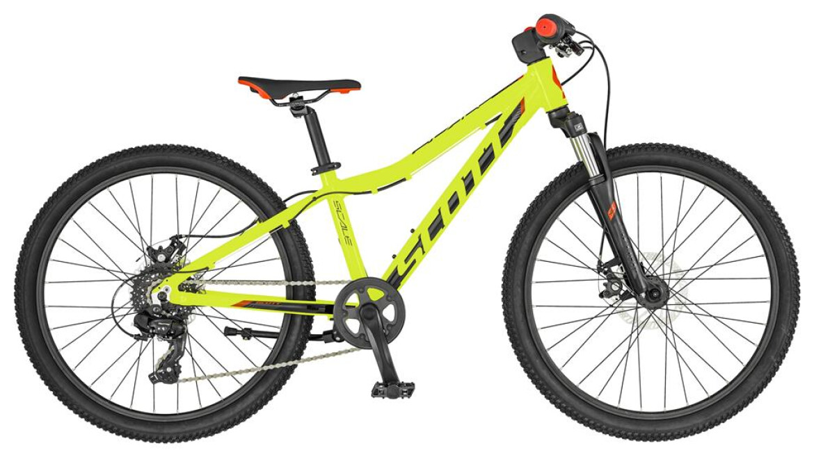 Scott Scale 24 Disc yellow 2019