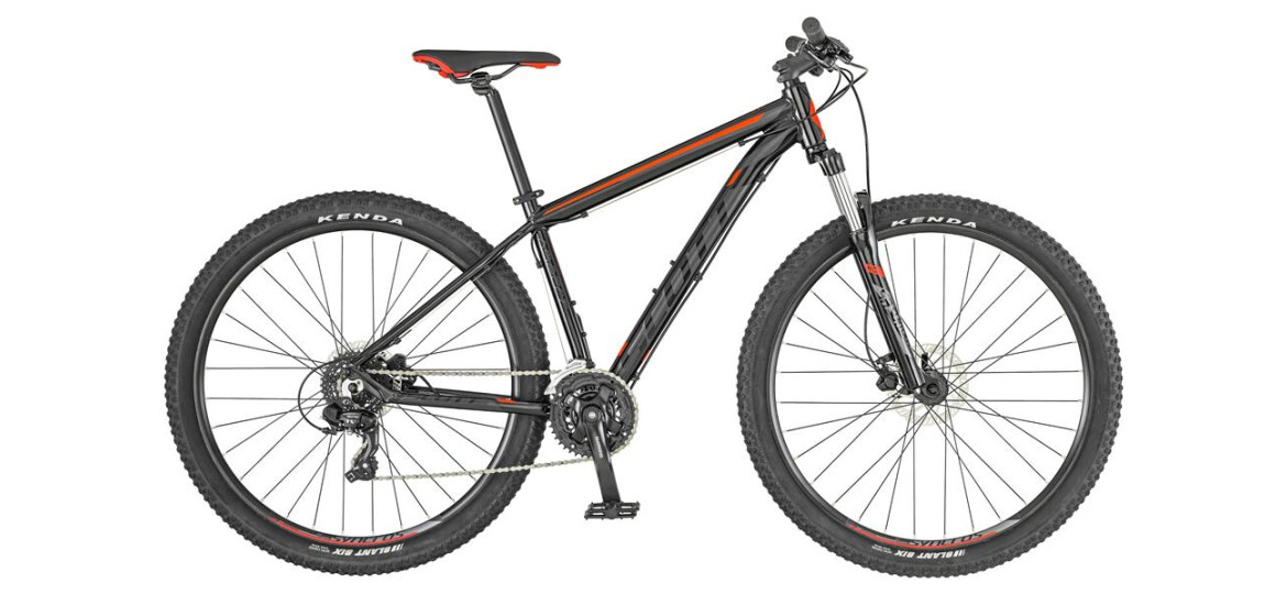 Scott Aspect 960 black and red 2019