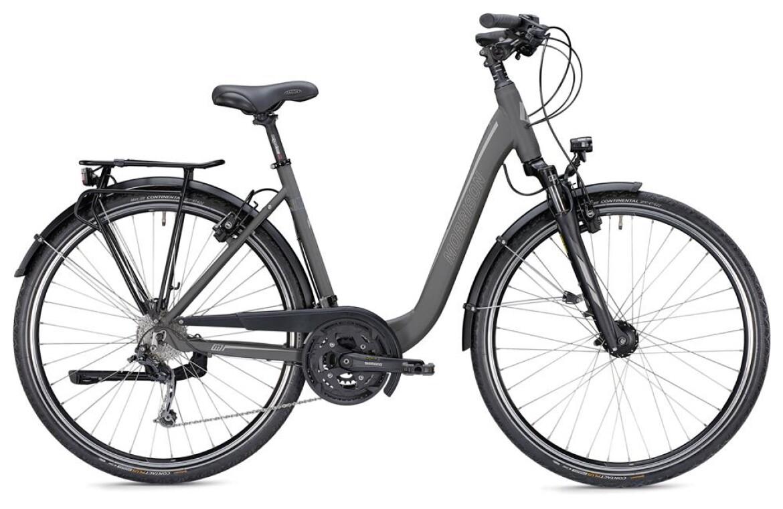 Morrison T 5.0 Plus Da, bis 170kg Gesamtgew., Trekkingbike mit 27-Gang Shimano Kettenschaltung