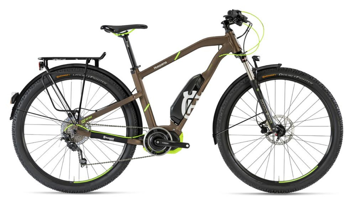 Husqvarna Bicycles Light Cross 2-Allroad, Shimano Mittelmotor, Akku 500 Wh, 10-Gang Deore Kettenschaltung, Herren.