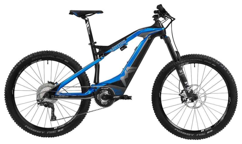 "M1-Sporttechnik Spitzing EVOLUTION ""R"" blue-carbon"