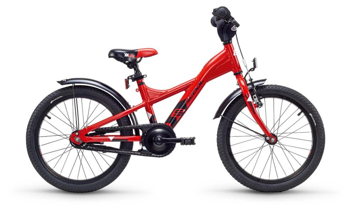 """S´cool S` COOL XXlite alloy 18"""" red/black"""