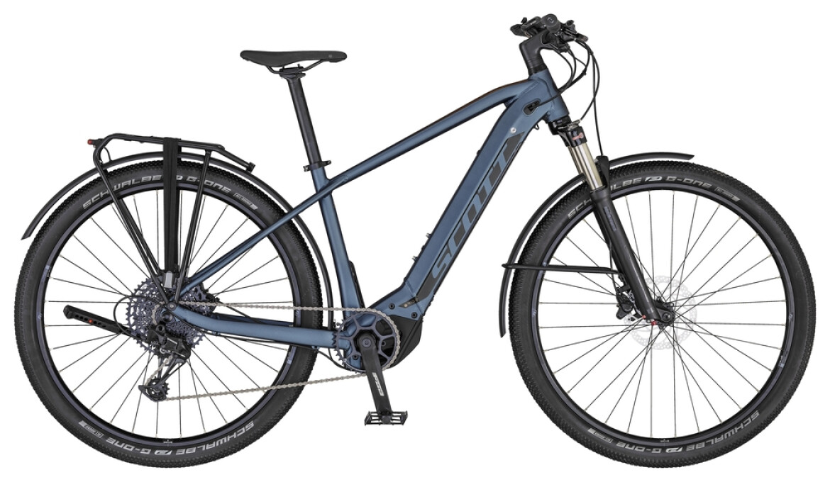 Scott Axis e-Ride 20 Men blue/havanna