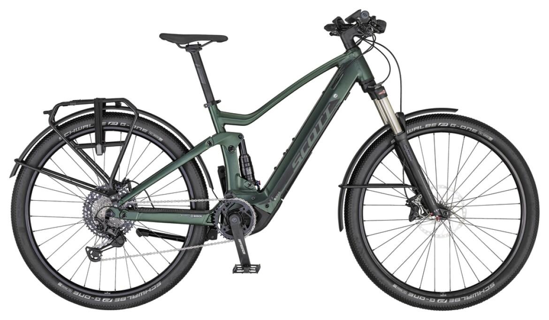 Scott Axis e-Ride Evo green/black/green