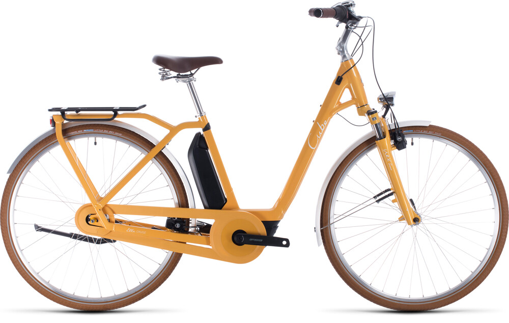 Cube Ella Cruise Hybrid 500 yellow´n´white Easy Entry