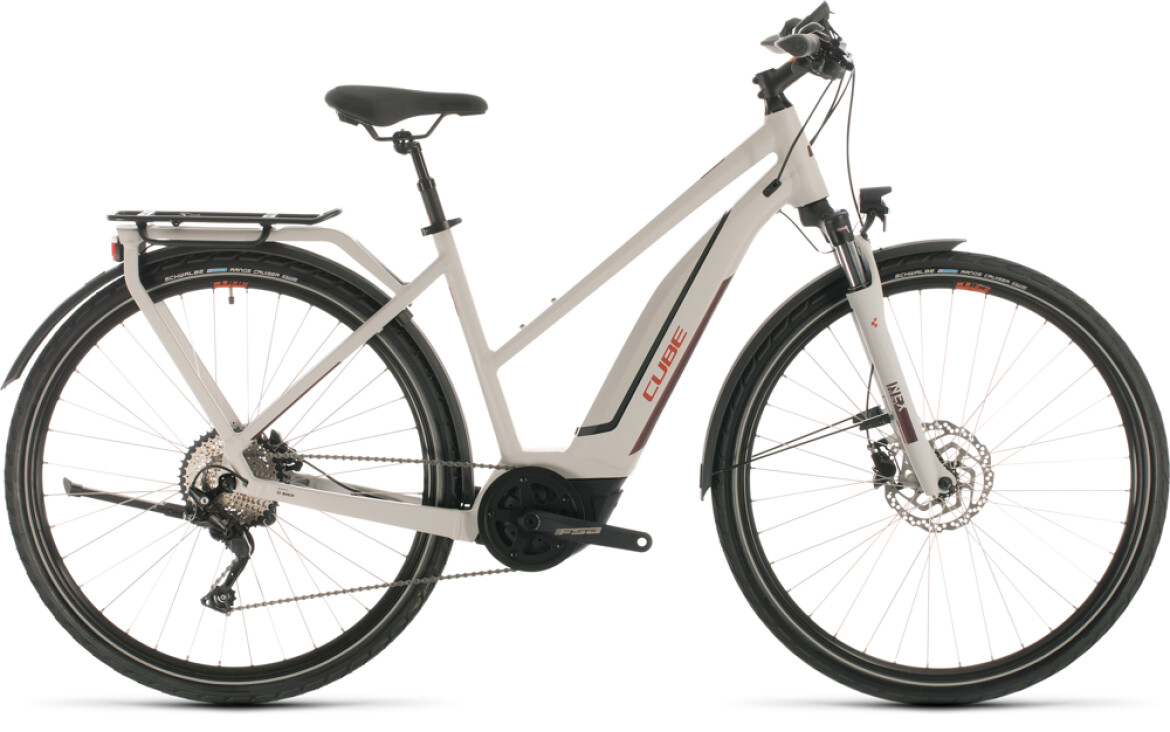 Cube Cube Touring Hybrid Pro 500 grey´n´red 2020 Trapeze