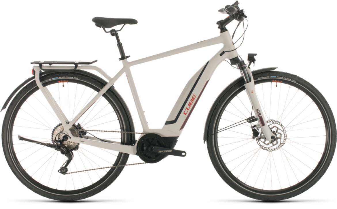 Cube Touring Hybrid Pro 500 grey red