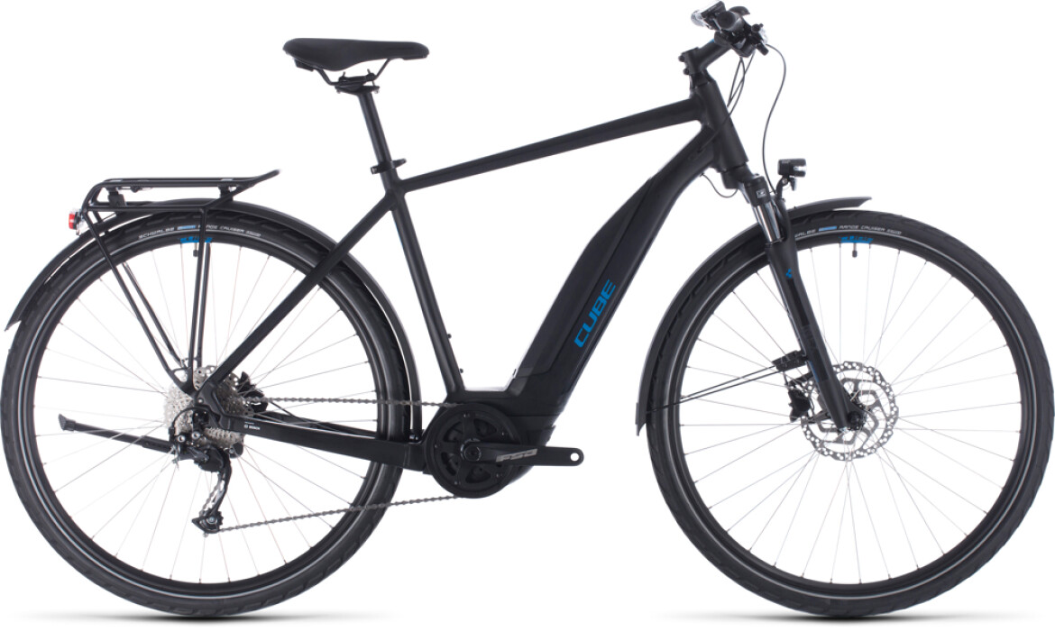 Cube Cube Touring Hybrid ONE 500 black´n´blue 2020
