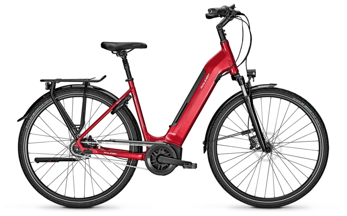 Raleigh Bristol 8  S45C 50Nm 500WH red