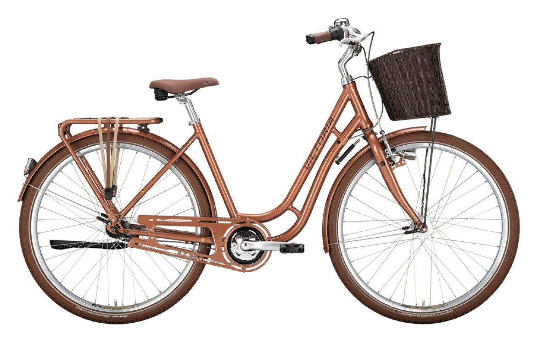 Victoria City Retro 5.4 caramel-brown