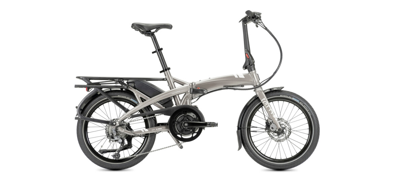 Tern Elektro-Faltrad Vektron Q9 Mod.21 satin metallic silver/silver