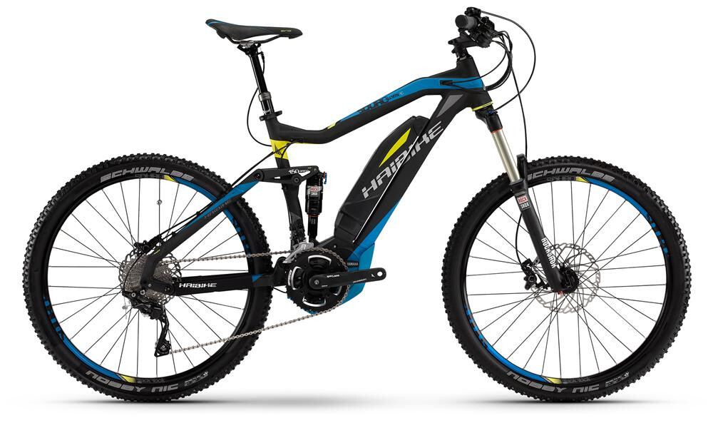 Haibike Fully SDURO All Mtn RC- 400Wh