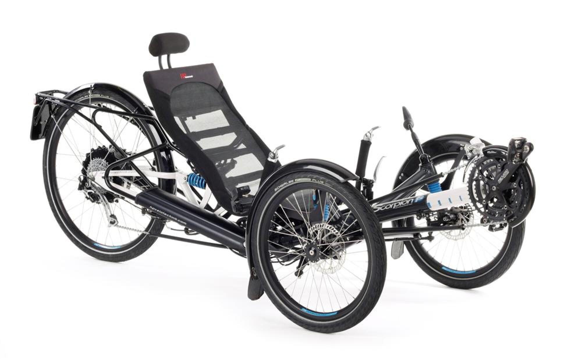 liegerad hp velotechnik scorpion fs 26 s pedelec 2016 bei. Black Bedroom Furniture Sets. Home Design Ideas