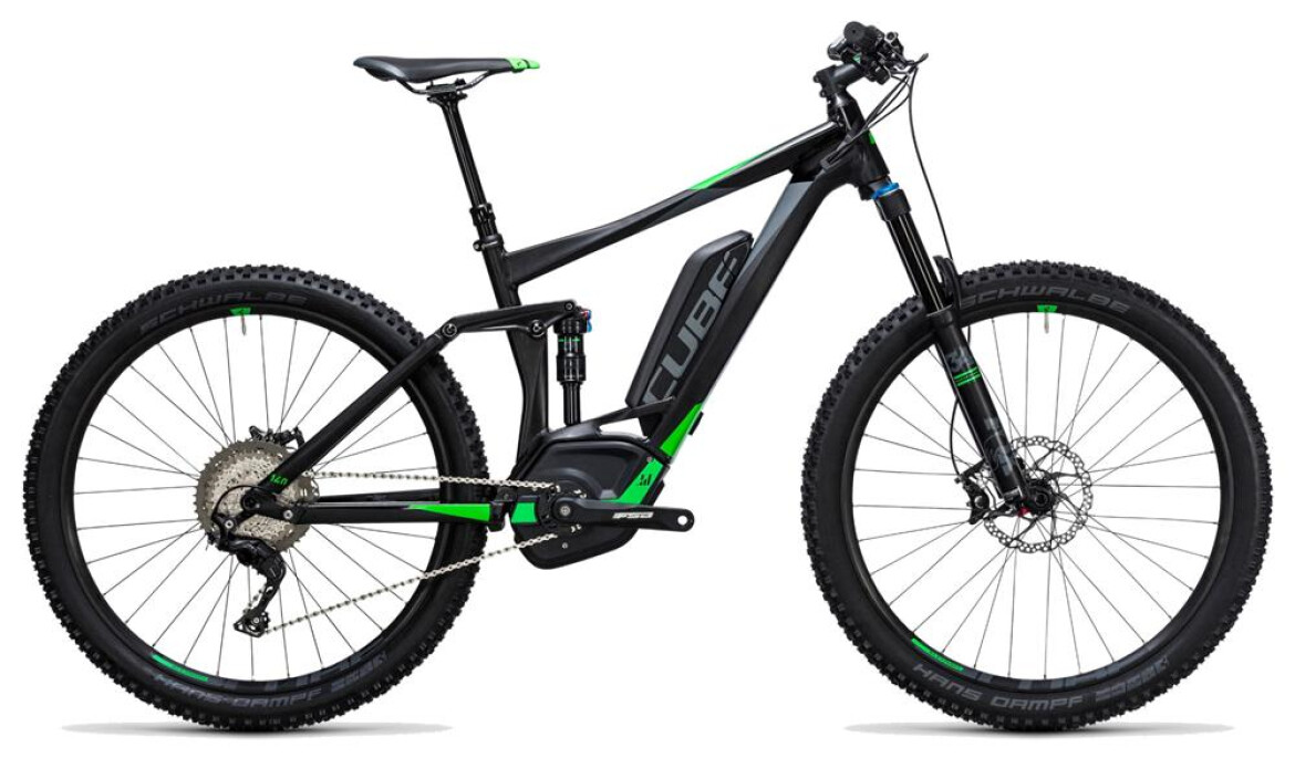 Cube Stereo Hybrid 140 HPA Race 500 Black´n´Flashgreen 27,5