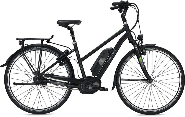 Falter Falter E-Bike E 9.8 FL Trapez schwarz matt 2017